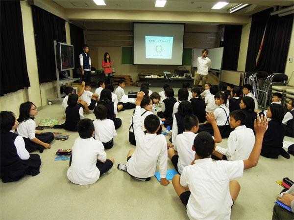 訪問授業|NPO法人サンフェイス | Blog Archive » 大阪市立中浜小学校